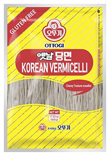 [OTTOGI] Korean Vermicelli Glass Noodle, Sweet Potato Noodles, 100% Sweet Potato Starch 17.63 Oz