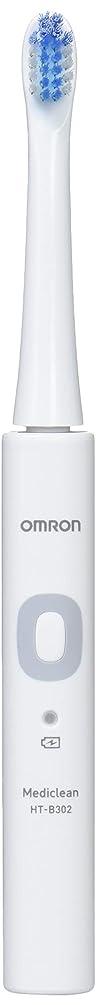助言トン四オムロン 音波式電動歯ブラシ HT-B302 HT-B302-W ホワイト