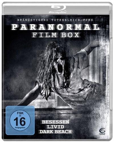 Die große Paranormal Film Box - Boxset mit 3 Horror-Hits: Besessen, Dark Beach, Livid [Blu-ray]