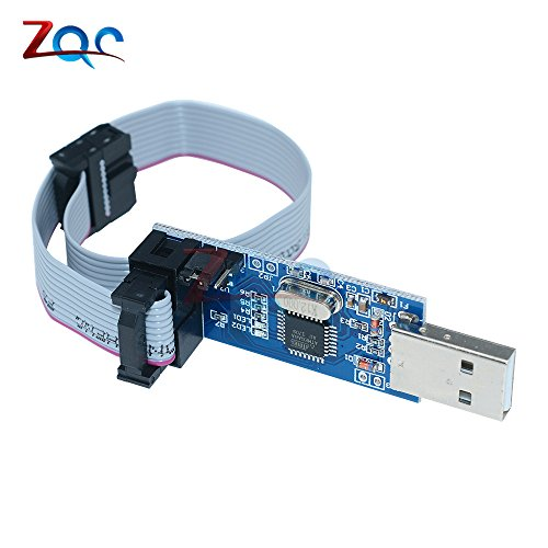USBASP USBISP AVR Programmer USB ISP USB ASP ATMEGA8 ATMEGA128 UnterStützung Win7 64K für Arduino