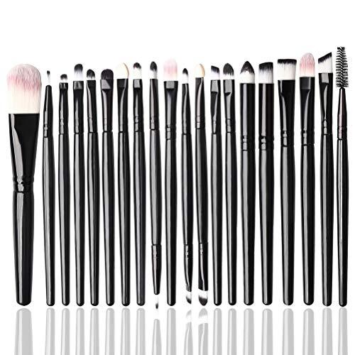 nuoshen 20 Stücke Augenpinsel Set, Pinsel Set Lidschattenpinsel Augen Make-up Pinsel Makeup...