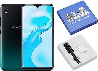 موبايل فيفو Y1s بشريحتين اتصال، 6.22 بوصة، 2 جيجابايت رام، 32 جيجابايت، 4G LTE - لون زيتي اسود