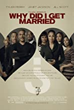 WHY DID I GET MARRIED? (2007) Original Authentic Movie Poster - 27x40 - Double Sided - Tyler Perry - Jill Scott - Janet Jackson - Michael Jai White