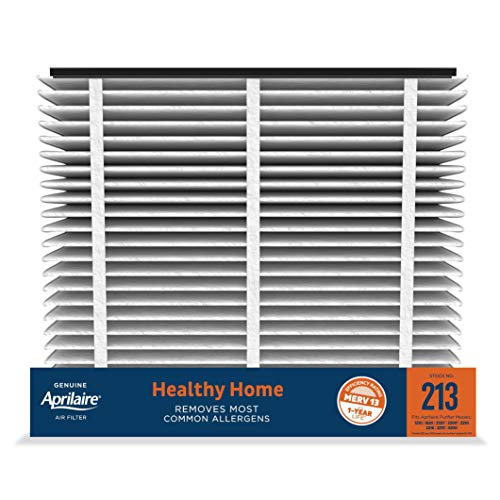 Aprilaire - 213 A2 213 Replacement Air Filter for Whole Home Air Purifiers, Healthy Home Allergy Filter, MERV 13 (Pack of 2)
