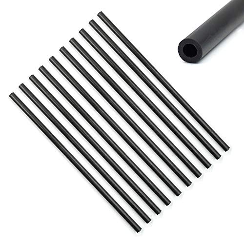 10 Pcs Carbon Fiber Tube (Hollow) 3mm x 5mm x 150mm Round for Quadcopter Multicoptor Frame Body Landing Gear