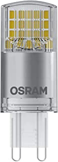 Osram Pack of 10 x LED PIN G9 | LED Lamp: G9, 3.80 W = Replacement for 40 W | Cool White, 4000 K