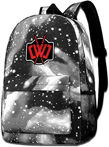 sdfasdfafd CWC Chad Wild Clay Galaxy Printed Star Sky Shoulder Bag Starry Night Laptop Backpack For Men Women Teens