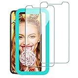 Babacom für iPhone 11 Pro/XS/X Panzerglas Schutzfolie, [Ultra Transparent] [9H Härte]...