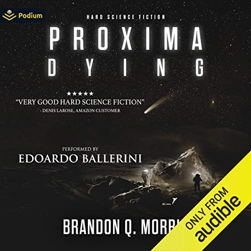Proxima Dying audiobook cover art