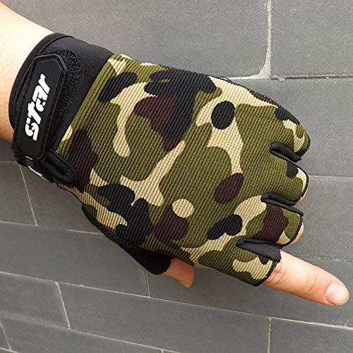 Fnito Warme Winterhandschuhe Gym Handschuhe Screen Breathable Wearable Protective Fingerless Gloves Handschuhe Moto Handschuhe Alpine Motocross Stars