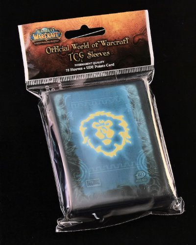 World of Warcraft WOW Game Card Sleeves Pack - 75 sleeves color may vary