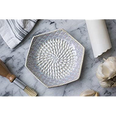 The Grate Plate Handmade Ceramic GratersUSA HANDMADE Garlic and Ginger Grater