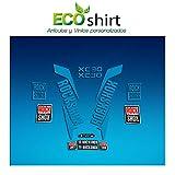 Ecoshirt 16-NZ84-CL7G Autocollants Stickers Fork Rock Shox Xc32 2017 Am170 Autocollants Fourche Bleu