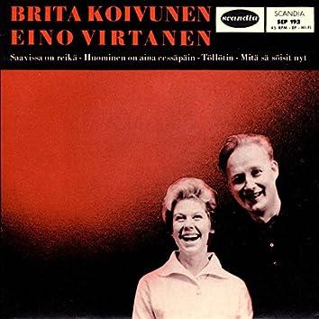 Brita Koivunen ja Eino Virtanen