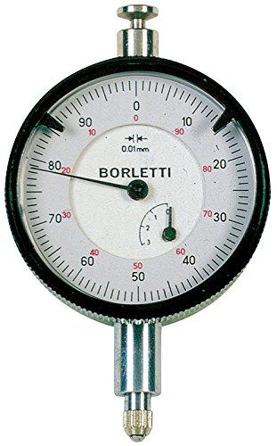 Borletti SC40/O Comparatore centesimale a quadrante, Corsa 3 mm, Verde