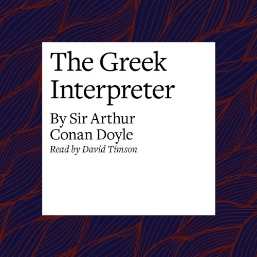 The Greek Interpreter audiobook cover art