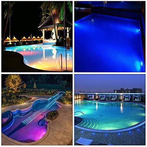 MUMENG Iluminación de estanques y piscinas