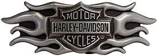 Harley-Davidson Men's Buckle, Inspiration Flaming Bar & Shield Buckle HDMBU10661