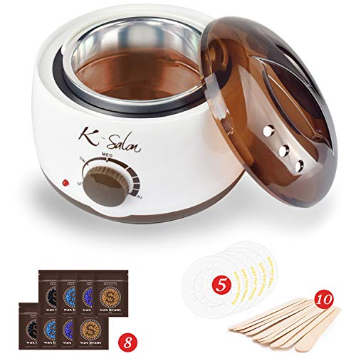Wax Warmer 25 in 1 Hair Removal Home Hard Wax Kit Electric Wax Heater