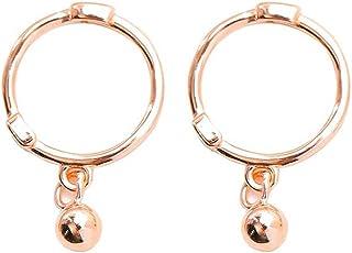 Mini 20G Ball Bead Dangle Small Hoop Earrings for Women Teen Girls 925 Sterling Silver Tiny Sleeper Cartilage Tragus Cute ...