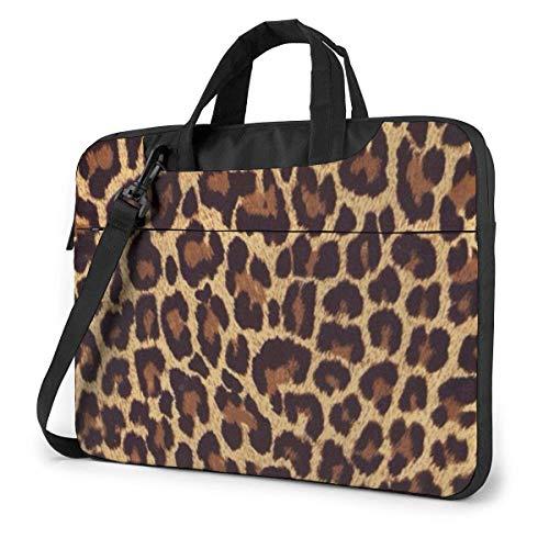 Cool Cheetah Leopard Laptop Sleeve Case Computer Tote Bag Shoulder Messenger Briefcase for Business Travel