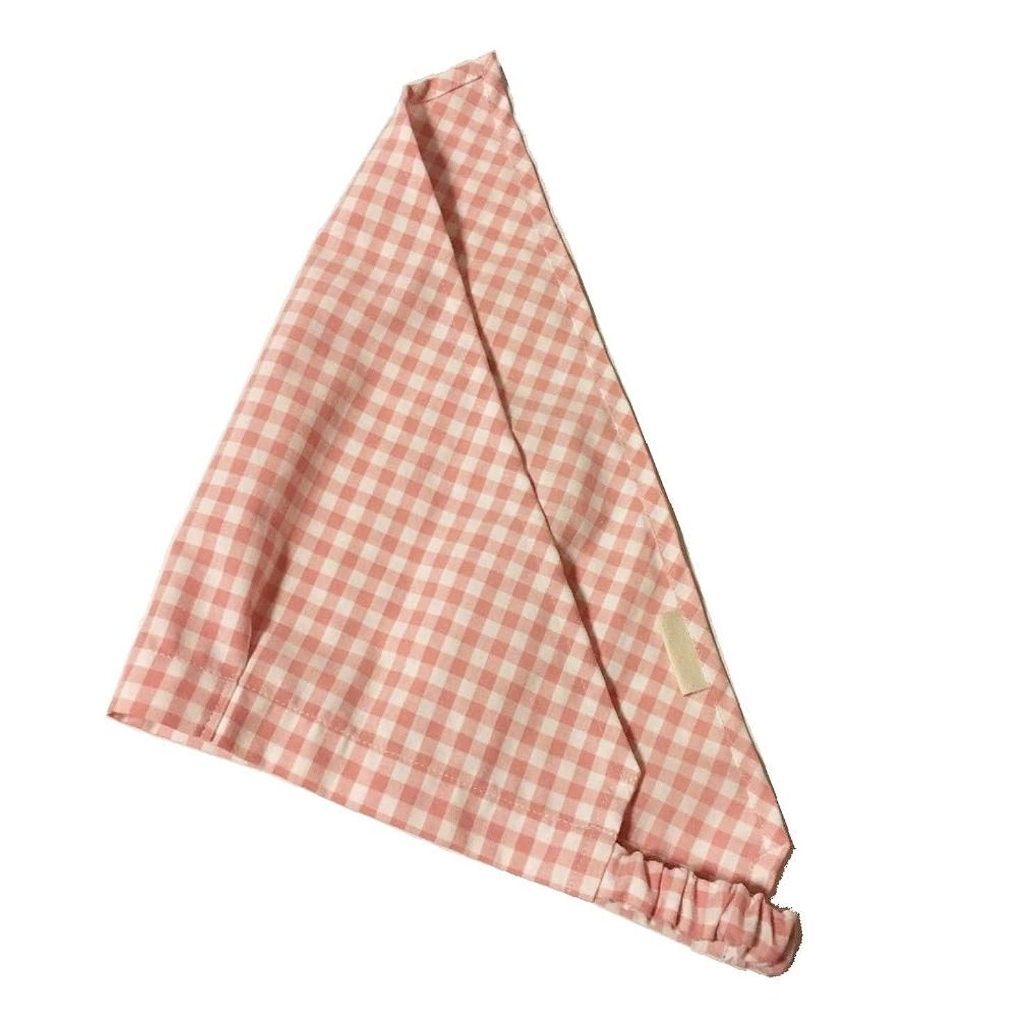 ベルト防ぐマリナー子供用 ゴム付き 三角巾 (お名前タグ付き) はんどめいど (ピンク)