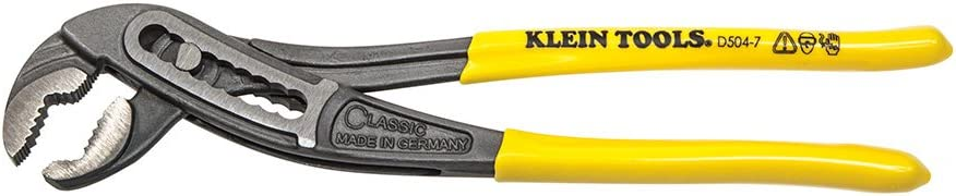 Classic Klaw Pump Pliers 7-Inch Yellow Sales results No. 1 High quality new Klein Tools D504-7