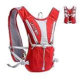 LANZON 2L Hydration Pack (NO Bladder), Marathon Running Vest, Hiking Cycling Backpack (2L Hydration...