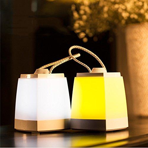 Bureze Farolillos Decorativos portátiles de luz Nocturna LED de la Marca