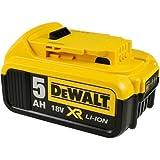 DeWalt Batterie pour Outil Type DCB184 pour XR Machines 18V 5,0Ah Li-ION, 18V, Li-ION [ Batterie Outil électroportatif ]