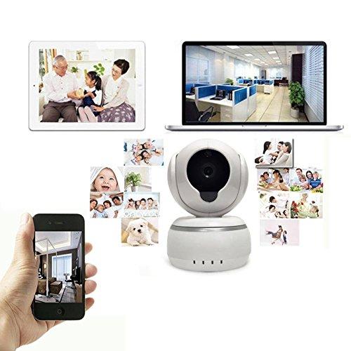 IP-Überwachungs-Sicherheitskameras 3D Echo-Rauschunterdrückung Wifi IP-Kamera Wireless Alarm Wireless IP Home Kamera