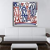 N/A Stampa pittura a olio murale arte murale soggiorno arte pittura cornice senza cornice immagine murale immagine (stampa senza cornice) D 60x90 cm