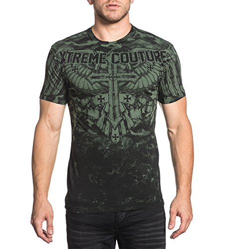 Xtreme Couture by Affliction T-Shirt Lost Soldier Grün, M
