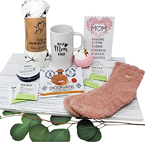 New MOM gifts for women, Care package / Gift basket idea, Mom who just...