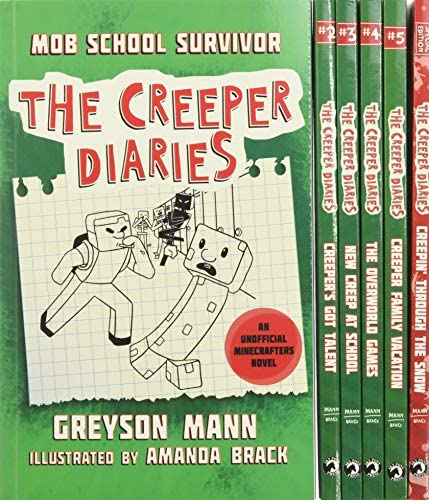 The Creeper Diaries Box Set Six Unofficial Adventures for Minecrafters product image