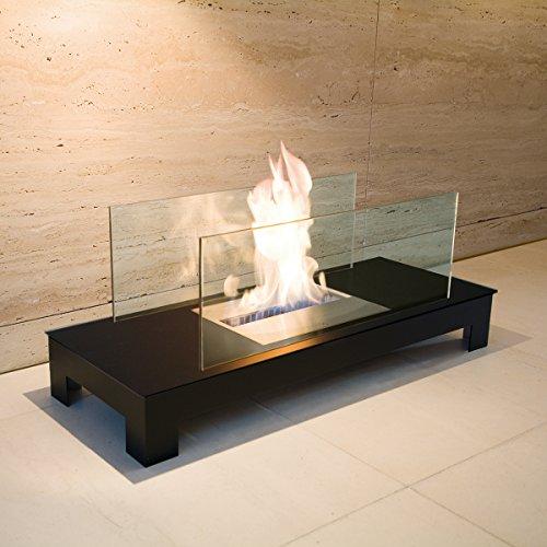 Feuerstelle FLOOR FLAME schwarz / schwarz - (537 C)