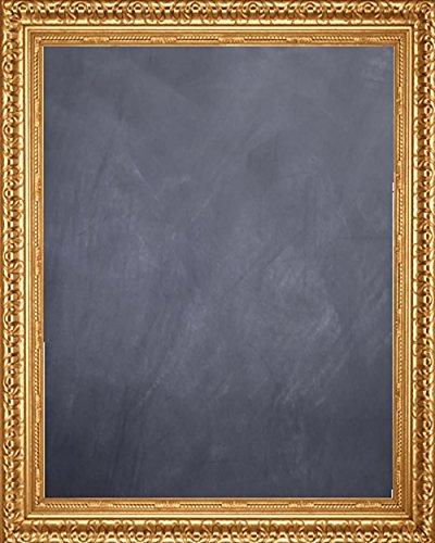 "Framed Chalkboard 24"" x 36"" - with Antique Gold Finish Frame"