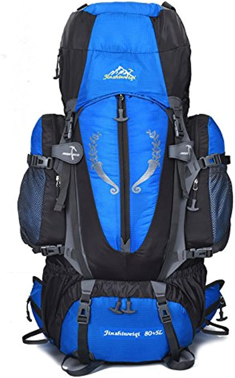 GWQGZ Leisure Outdoor Large Capacity Mountaineering Bag Hiking Camping Shoulder Bag