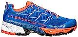 La Sportiva Akyra Woman, Zapatillas de Trail Running para Mujer, Multicolor (Marine Blue/Lily Orange 000), 37 EU
