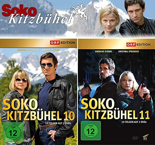 SOKO Kitzbühel - Box 10+11 (4 DVDs)