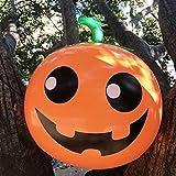 XIDAJIE Halloween Pumpkin Inflatable Blow Up Decorations, Inflatables Hanging Decorations for Halloween Indoor Outdoor Yard Decoration