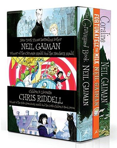 Pack: Neil Gaiman And Chris Riddell