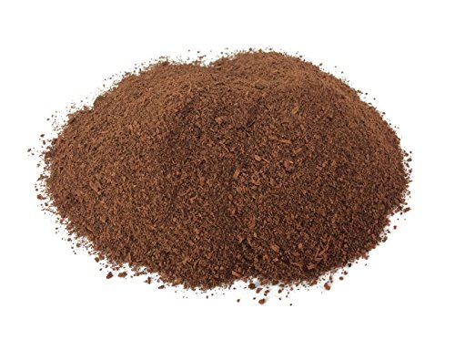 Fake Brown Moss Powder in Pot Algae 50 Grams Growing Plant Pot Handmade