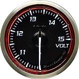 日本精機 Defi (デフィ) メーター【 Racer Gauge N2 RED 】 52φ 電圧計 DF16503