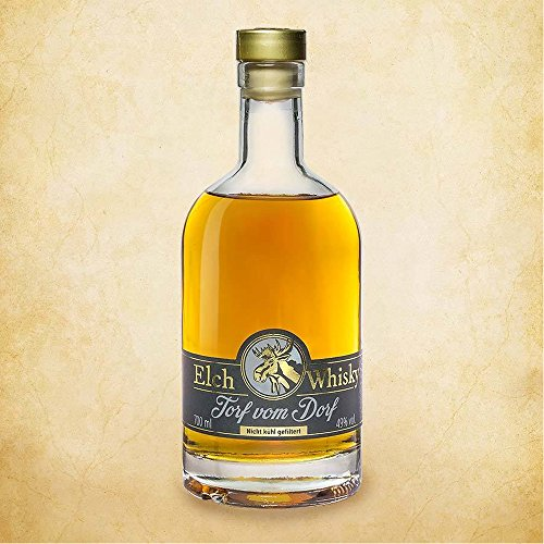 Elch Whisky - Torf vom Dorf - Single Malt Whisky (0,7l)