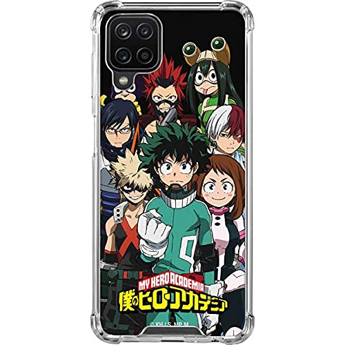 Skinit Clear Phone Case Compatible with Samsung Galaxy A12 - Officially Licensed Funimation My Hero Academia Design