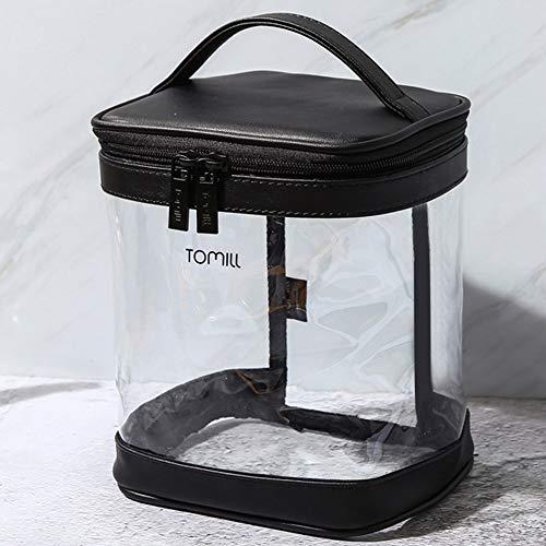 Bolso de Cosméticos bolsa de lavar bolsa de maquillaje Bolsas de Aseo Transparente Neceser de Viaje,Bolsa Aseo de Transporte para Avión,Almacenamiento Transparente de Artículos Cuidados Cosméticos