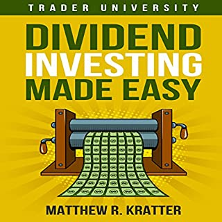Dividend Investing Made Easy audiobook cover art