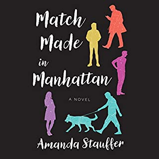 Match Made in Manhattan audiobook cover art