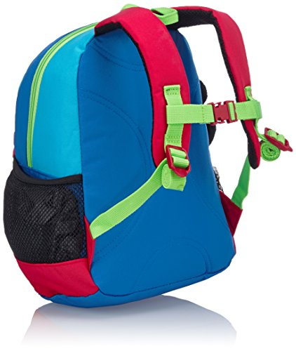 Scout Kinder-Rucksack Rucksack V Plüschfigur Panda 8 Liters Blau 21090136000